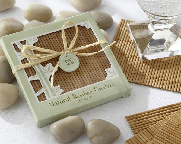 diy bamboo coasters