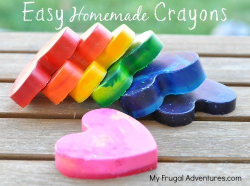 DIY rainbow crayons - my frugal adventures.jpg