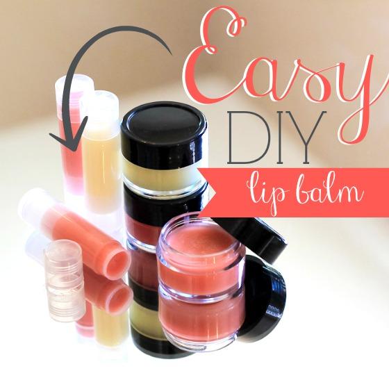 10 Easy DIY Lip Balms