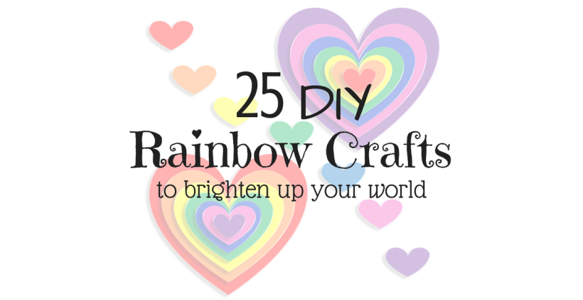 25 DIY Rainbow Crafts To Brighten Up Your World
