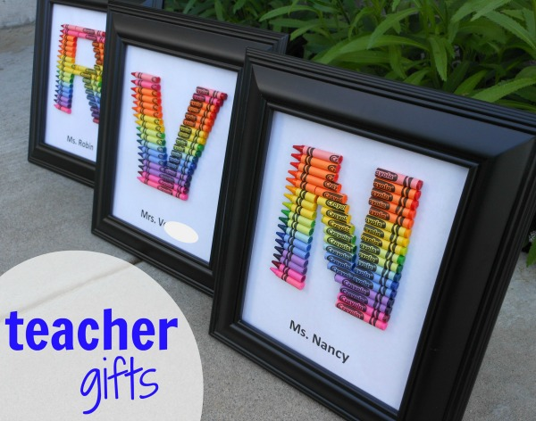monogram rainbow crayon art - a mom with a lesson plan.jpg