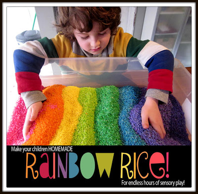 rainbow rice - mamas little muse