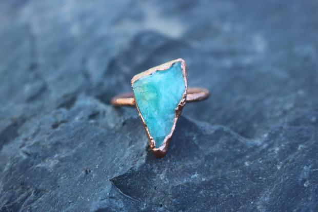 Raw Peruvian Opal Gem Ring.jpg