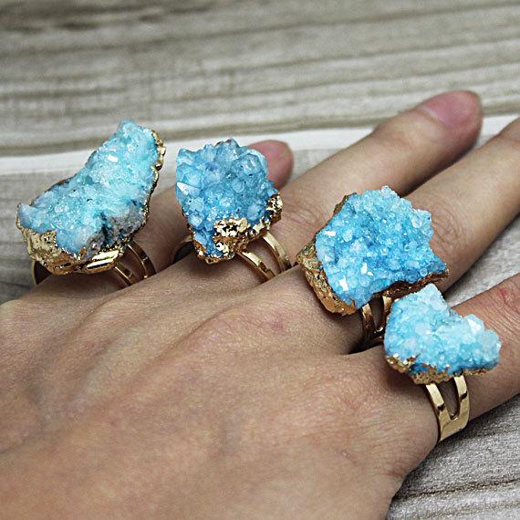 Raw Turquoise Druzy Ring.jpg